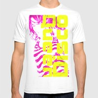 Disco Queen Of Myworld Mens Fitted Tee White SMALL