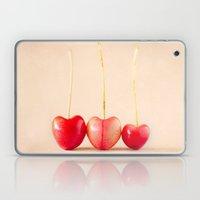 Cherry Heart Goodness Laptop & iPad Skin