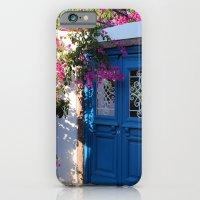 Greek Santorini Doors iPhone 6 Slim Case