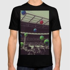 Coldplay at Wembley Mens Fitted Tee Black SMALL