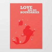 Love Has No Boundaries Canvas Print