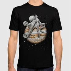 Celestial Cephalopod Mens Fitted Tee SMALL Black