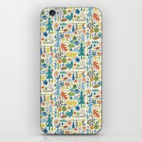 Folk Forest iPhone & iPod Skin