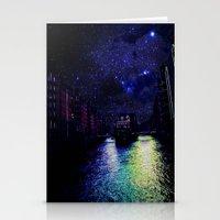 Hamburg city Stationery Cards