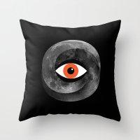 Eternal Eye Throw Pillow