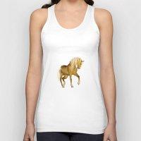 HORSE - Palomino Unisex Tank Top