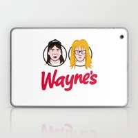 Wayne's Double Laptop & iPad Skin