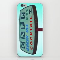 Cafe Queen Bee iPhone & iPod Skin