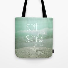 SALT IN THE AIR Tote Bag