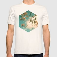 Magnolia Falls Mens Fitted Tee Natural SMALL