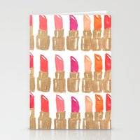 Lipstick! Stationery Cards