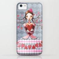 Queenofhearts II. iPhone 5c Slim Case
