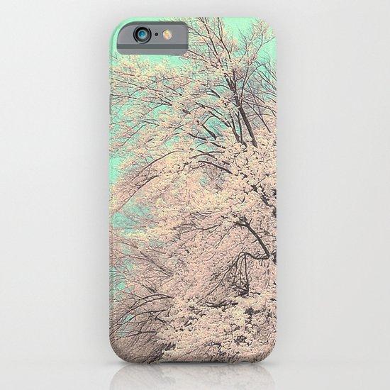 Snow tree iPhone & iPod Case