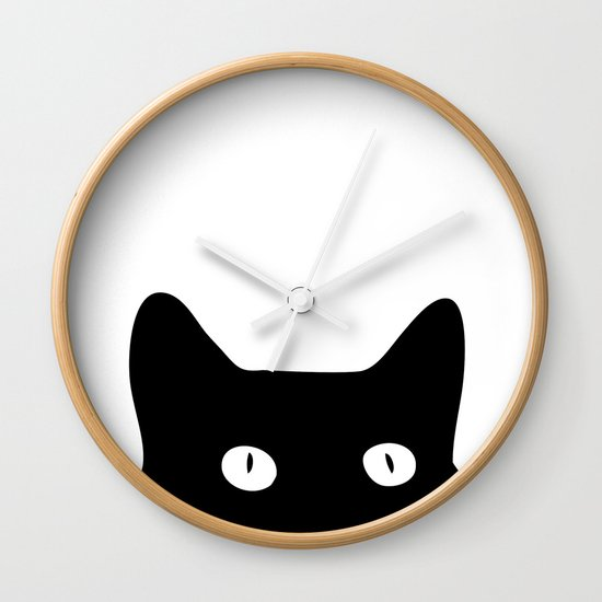 Cat Kitchen Wall Clock