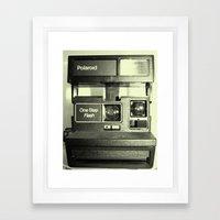 Keep Shaking It Framed Art Print