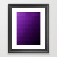 Amethyst Skies Framed Art Print