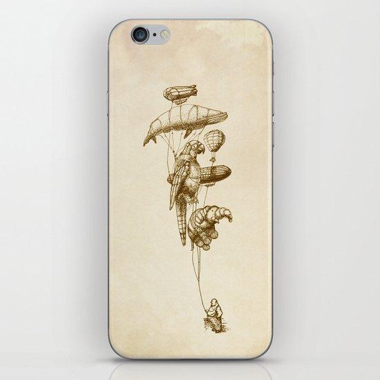 The Helium Menagerie (sepia) iPhone & iPod Skin