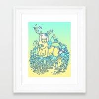 earthy delights Framed Art Print