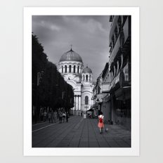 When In Lithuania Art Print