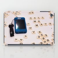 Call me maybe iPad Case