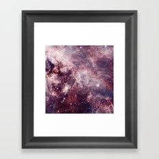 Cloud Galaxy Framed Art Print