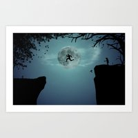 Art Print featuring Escape by filiskun
