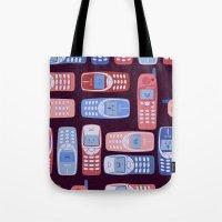 Vintage Cellphone Reacti… Tote Bag