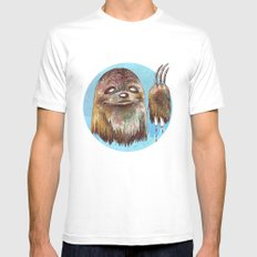 Sloth Pride Mens Fitted Tee White SMALL
