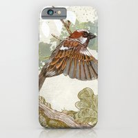 iPhone & iPod Case featuring Flying away by Eachen Chen