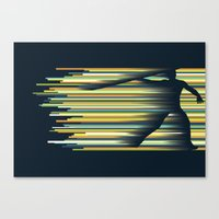 Olympic Javelin Canvas Print