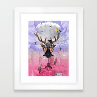 Ozone Is Dying Framed Art Print