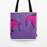 Punk Hair Tote Bag