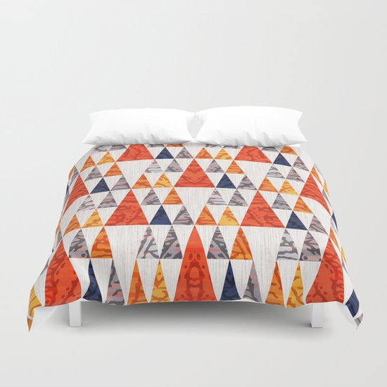 TEEPEE TOWN Duvet Cover