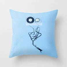 Fast Forward Throw Pillow