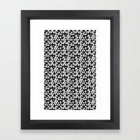 Drawn Triangles 03  Framed Art Print