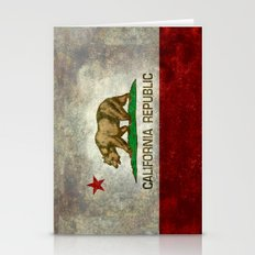 State flag of California Stationery Cards