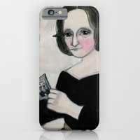 Mary Shelley and the Monster iPhone 6 Slim Case