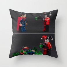Anything can be a weapon Throw Pillow