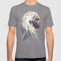 Mother Of Dragons Mens Fitted Tee Tri-Grey SMALL