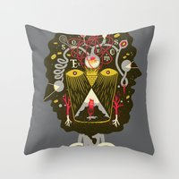 There are things you should know... Throw Pillow