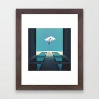 Desire to Fly Framed Art Print