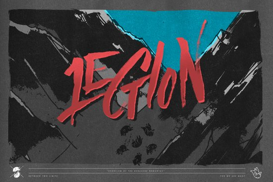 Legion of Demons (By Nate Utesch) Art Print