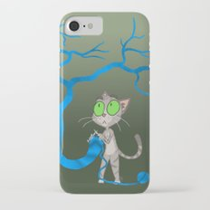 Knitting Cat iPhone 7 Slim Case