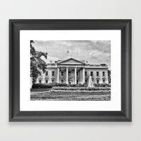 White House Framed Art Print