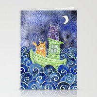 The Owl & The Pussycat Stationery Cards