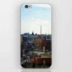Washington DC Rooftops iPhone & iPod Skin