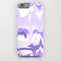 Marbled In Orchid iPhone 6 Slim Case