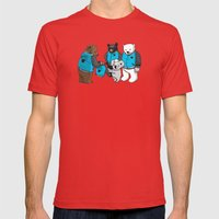 Honorary Membear Mens Fitted Tee Red SMALL