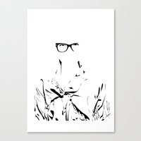 eye wear it Canvas Print