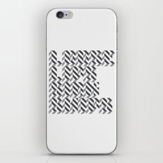 loose lips sink ships dazzle typography iPhone & iPod Skin